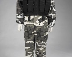 V For Vendetta Military Fatigues and Vest