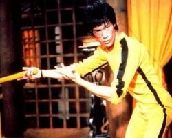 Bruce Lee Shoes from Game of Death.