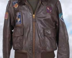Arnold Schwarzenegger hero leather jacket – The 6th Day