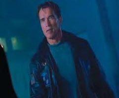 Arnold Schwarzenegger hero leather jacket – The 6th Day