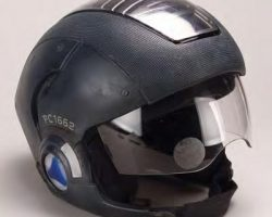 Hero Precrime jetpack and helmet from Minority Report