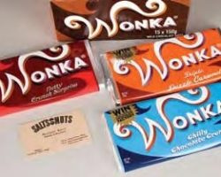 Wonka Bars and Box – Charlie and the Chocolate Factory