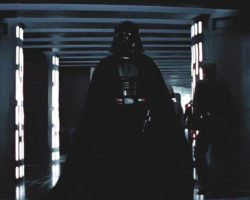 Darth Vaders Jedi robe and cape from Star Wars