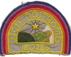 Nostromo crew logo patches from Alien