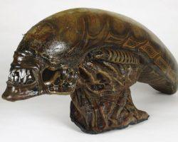 Hero Alien Head and Mask from Alien 3