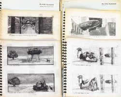 Selected storyboard sequences from Blade Runner
