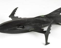 Batboat study model miniature from Batman Returns
