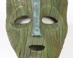 Jim Carreys mask from The Mask