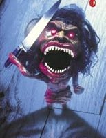 Acid-victim Zuni doll from Trilogy of Terror II