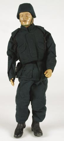 Miniature soldier from The Matrix