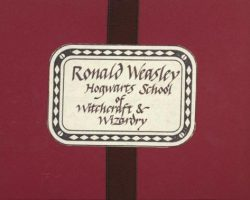 "Ronald Weasley ""howler"" letter from Harry Potter"