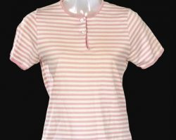 Dawn Wells pink & white shirt – Gilligans Island