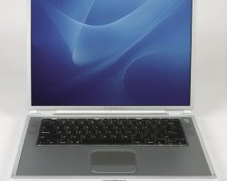 15-inch Apple G4 laptop used by Langly on The X-Files