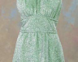Farrah Fawcett-Majors minidress from Logans Run