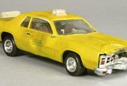 Miniature taxi from Superman II