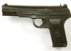 Prop pistol from Rambo III