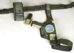 William Hurt pistol and communicator – Lost in Space
