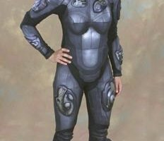 Mimi Rogers flightsuit from Lost in Space