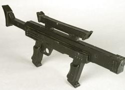 Security guard prop rifle from Lost in Space