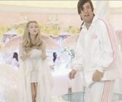 Adam Sandler Angel suit from Little Nicky