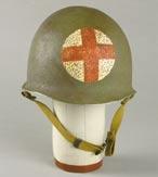 Korean War-era medic helmet from M*A*S*H