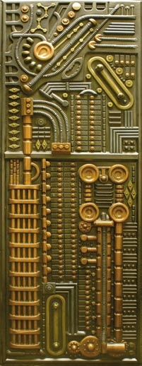 Borg panel from Star Trek: The Next Generation