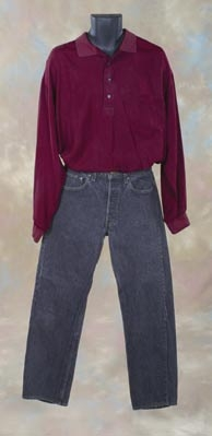 Patrick Swayze casual costume from Ghost