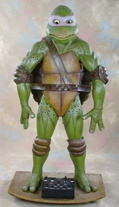 Full-size Donatello from Teenage Mutant Ninja Turtles