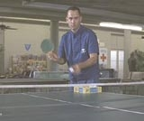 Tom Hanks ping-pong props from Forrest Gump