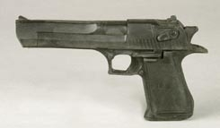 John Lithgow prop pistol from Cliffhanger