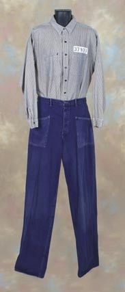 Tim Robbins prison uniform – Shawshank Redemption