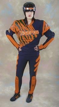 Dizzys jumpball uniform from Starship Troopers