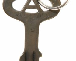The Blues Brothers Prop Prison Key
