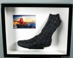 Framed Spider-man Costume Piece Left Boot black