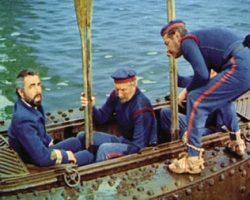 Captain Nemo's Skiff From The Submarine Nautilus In 20,000 Leagues Under The Sea