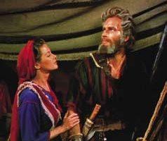Charlton Heston kaftan from The Ten Commandments