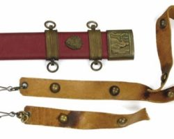 Kirk Douglas hero sword and scabbard from Spartacus