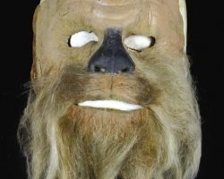 Chewbacca face mask for Star Wars