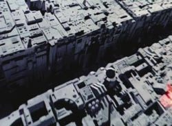 Death Star miniature surface section panel – Star Wars (1/6)
