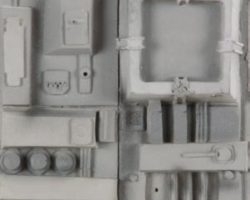 Death Star miniature surface section panel – Star Wars (2/6)
