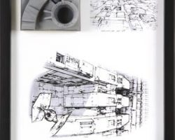 Death Star miniature surface section panel – Star Wars (3/6)
