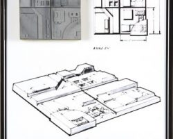 Death Star miniature surface section panel – Star Wars (5/6)