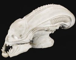 H.R. Giger prototype casting of the Alien creature