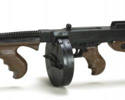Prop background machine gun from The Untouchables