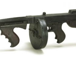 Sean Connery stunt machine gun from The Untouchables