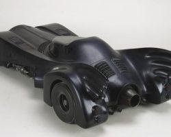 Miniature Batmobile movie prop from the first Batman