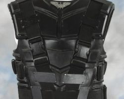 Denise Richards black chest armor – Starship Troopers