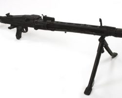 Prop machine gun with bi-pod from Saving Private Ryan