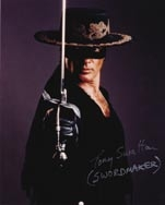 Antonio Banderas hero sword from The Mask of Zorro