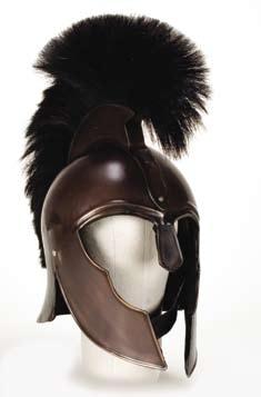 """Brad Pitt """"Achilles"""" stunt helmet from Troy"""